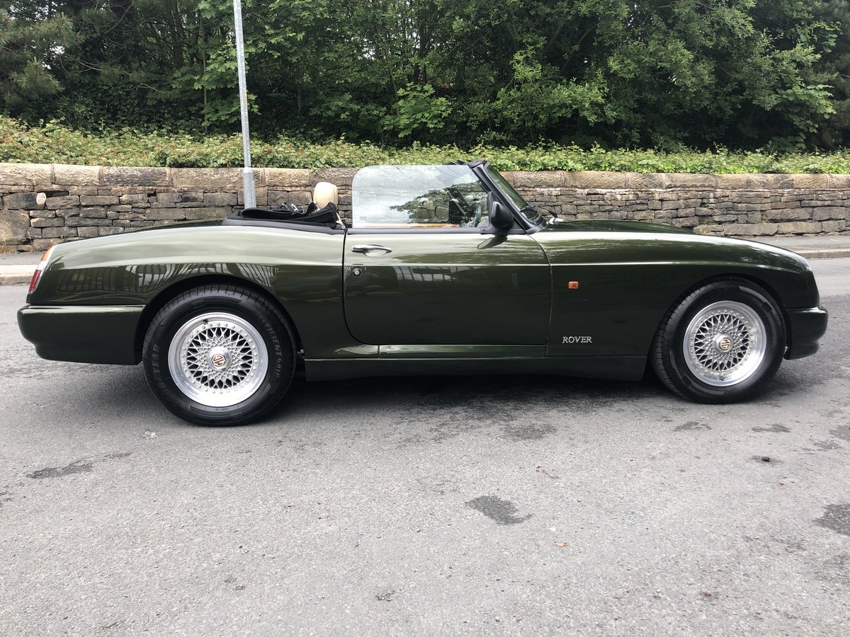 1995 MG RV8, only 12k miles, 3 owner, 12mth MOT For Sale (picture 3 of 6)