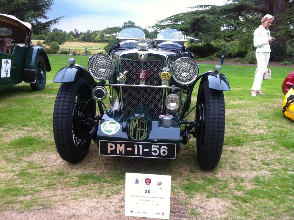 1933 MG J2 Supercharged For Sale (picture 1 of 5)