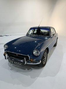 1972 MG BGT Mineral Blue