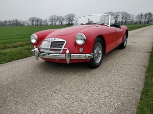 1957 MG A roadster'57   LHD