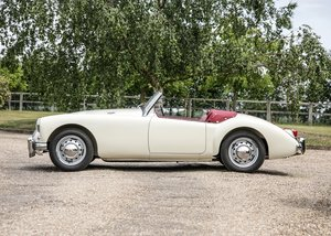 1958 MG A Mk. I Roadster (1500) For Sale by Auction