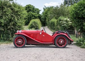 Picture of 1934 MG J2 SOLD by Auction