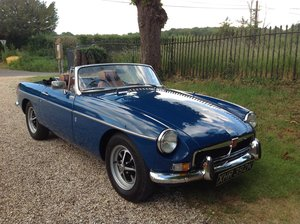 1972 MGB Roadster manual with overdrive