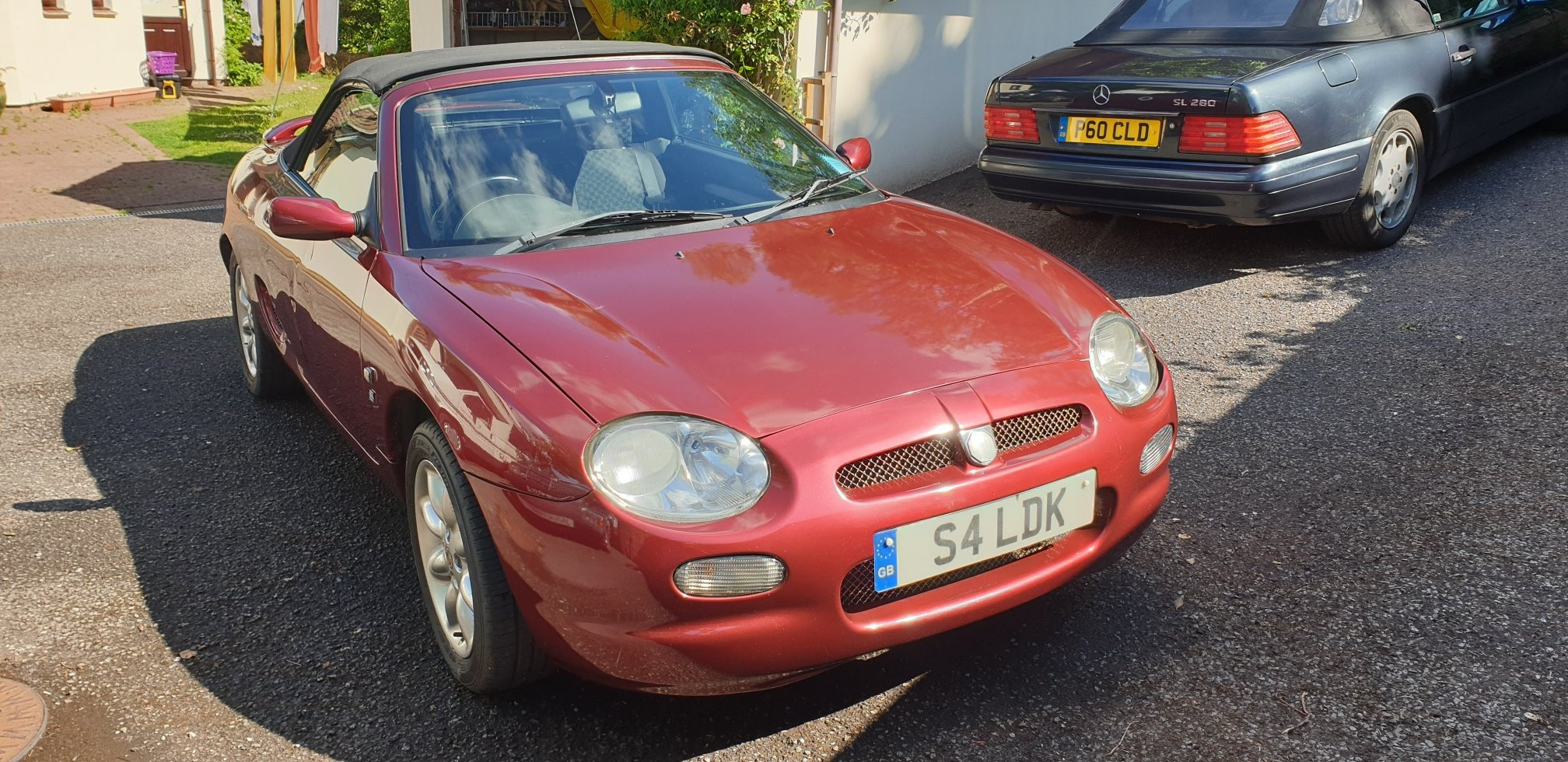 2001 MGF with factory fitted TF interior SOLD (picture 2 of 6)