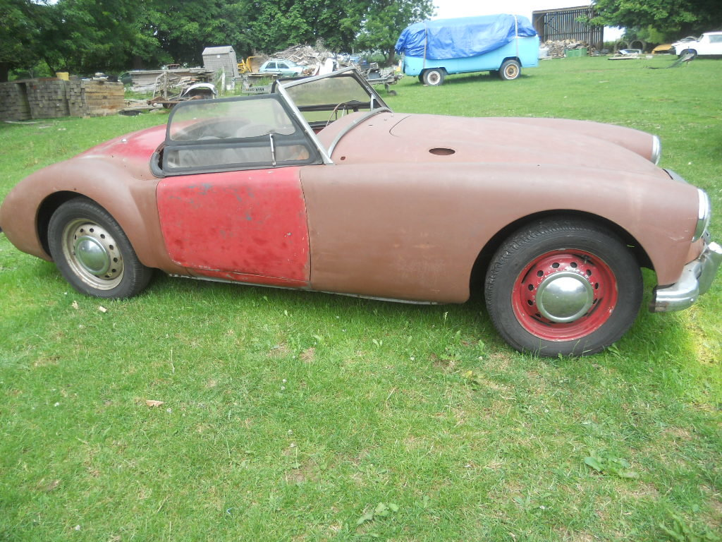 1958 MGA Roadster LHD  For Sale (picture 1 of 6)