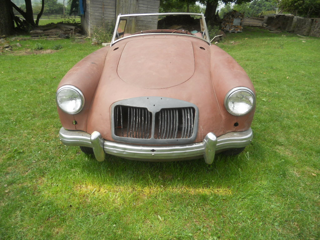1958 MGA Roadster LHD  For Sale (picture 2 of 6)