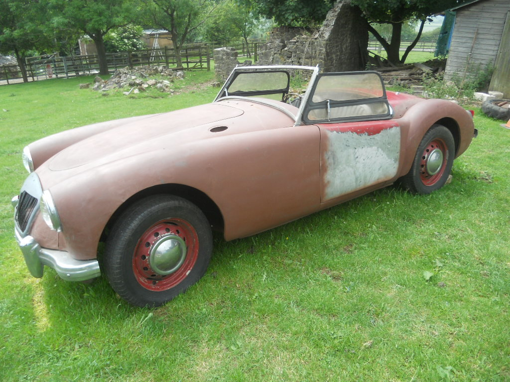 1958 MGA Roadster LHD  For Sale (picture 3 of 6)