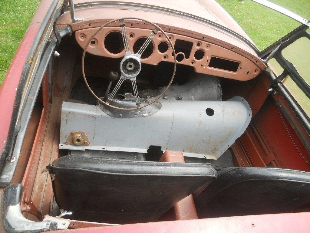 1958 MGA Roadster LHD  For Sale (picture 5 of 6)
