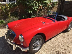 1956 MGA Concours Condition (1500cc)