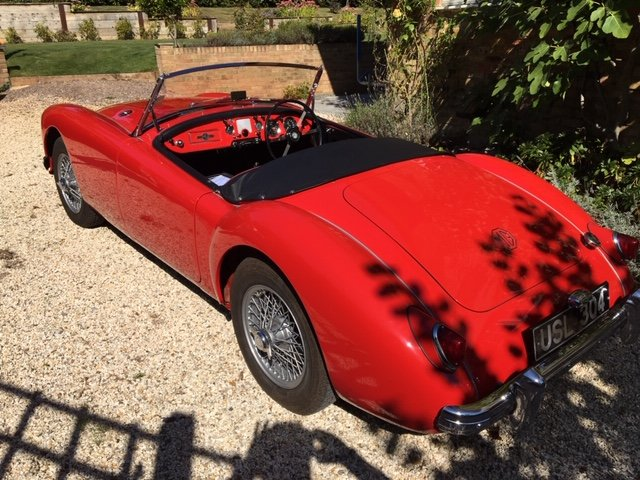 1956 MGA Concours Condition (1500cc) For Sale (picture 3 of 6)