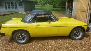 1980 Mgb roadster rubber bumper For Sale