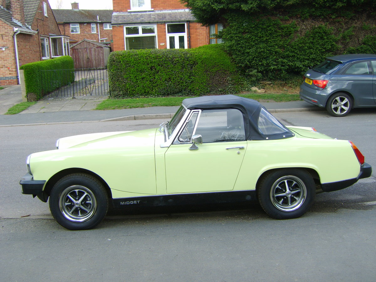 1977 MG Midget 1500 72000 mls. SOLD (picture 1 of 1)