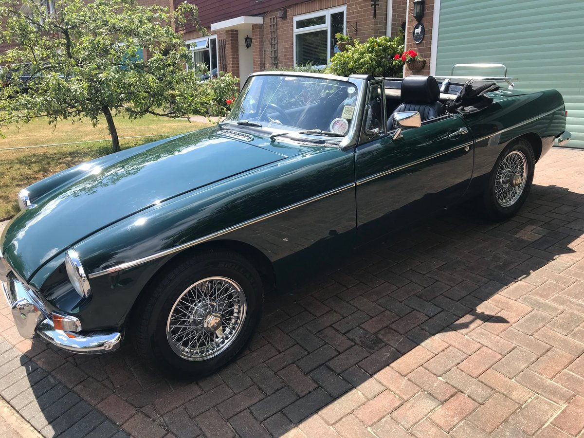 1964 MGB MK 1 built  - £13000 ono SOLD (picture 1 of 6)