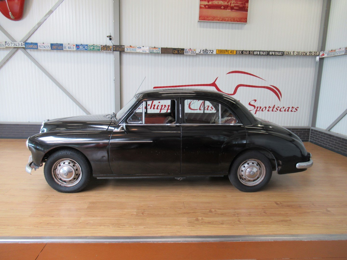 1956 MG Magnette ZB LHD for restauration For Sale (picture 2 of 6)