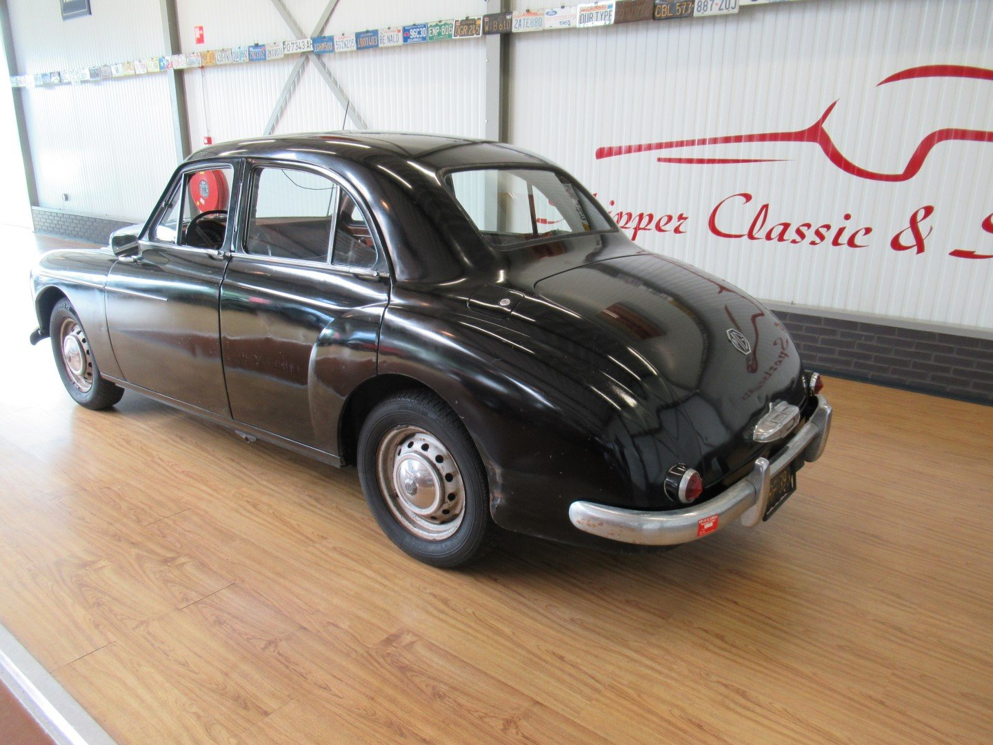 1956 MG Magnette ZB LHD for restauration For Sale (picture 3 of 6)