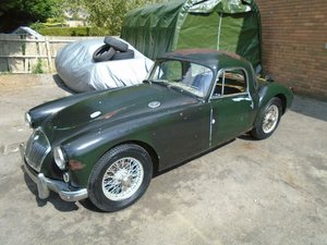 MGA 1500 LHD COUPE (1958) ASH GREEN! US IMPORT!  For Sale