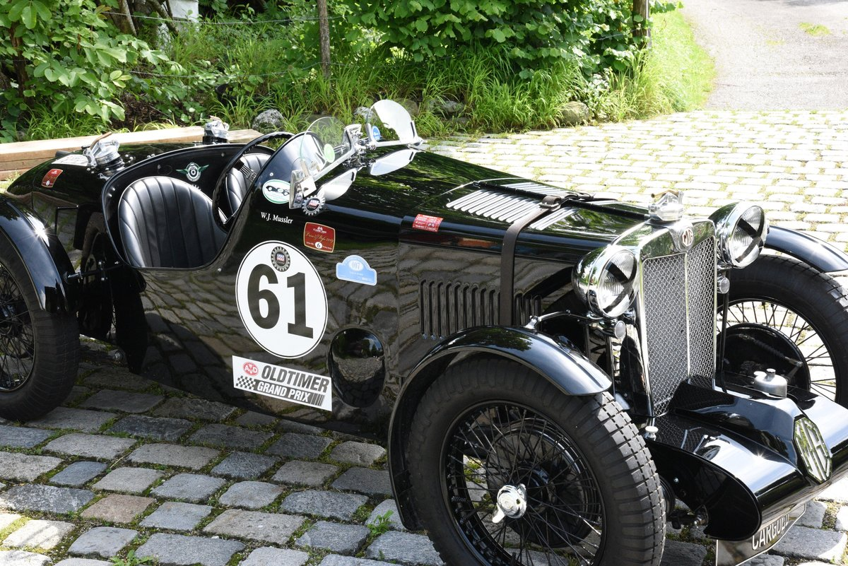 1937 MG Q Type Special, strong race car! For Sale (picture 1 of 6)