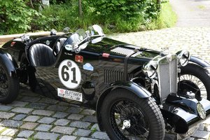 1937 MG Q Type Special, strong race car!