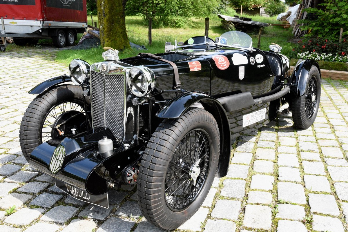 1937 MG Q Type Special, strong race car! For Sale (picture 6 of 6)