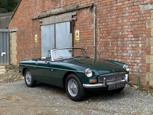 1967 MGB Roadster. Last Owner 17 Years