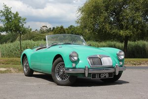 1958 MG A 1500 Roadster just 2 previous owners UK RHD For Sale