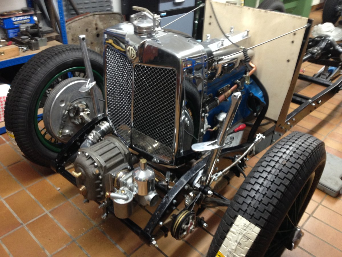 1934 MG N Type Special, K3 Rep. SOLD (picture 3 of 6)