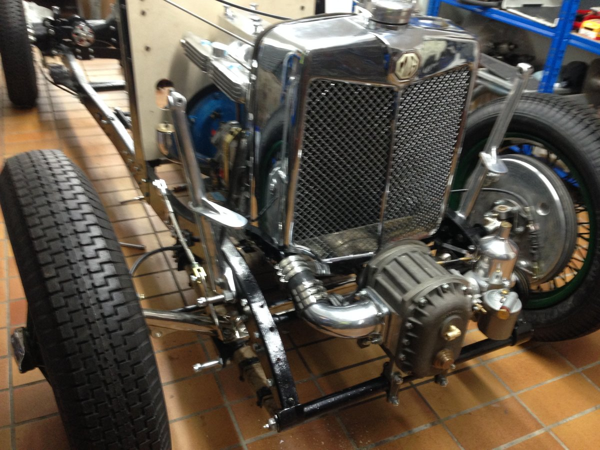 1934 MG N Type Special, K3 Rep. SOLD (picture 5 of 6)