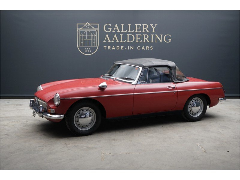 1968 MG B Roadster Swiss car, good overal condition For Sale (picture 1 of 6)