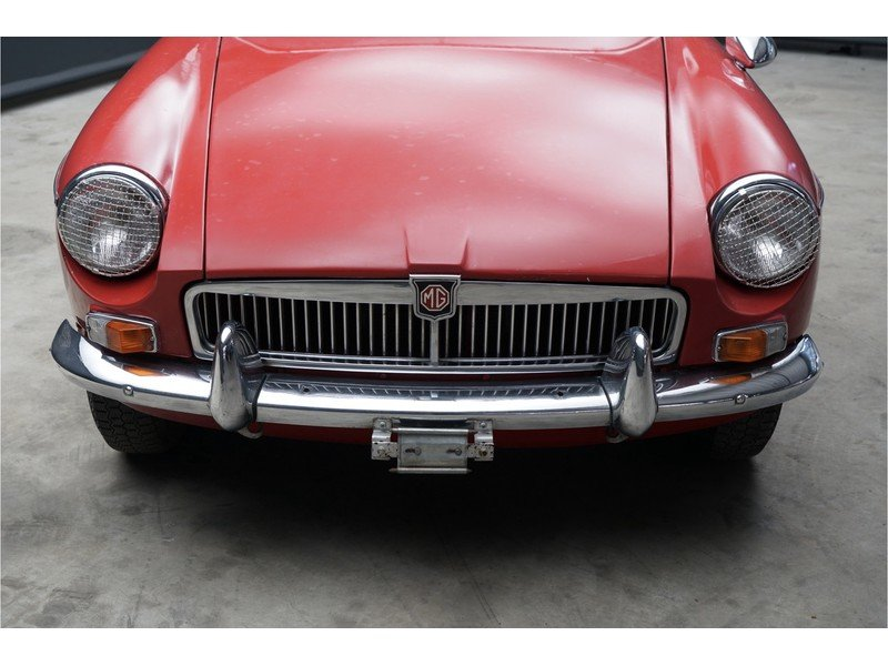 1968 MG B Roadster Swiss car, good overal condition For Sale (picture 5 of 6)