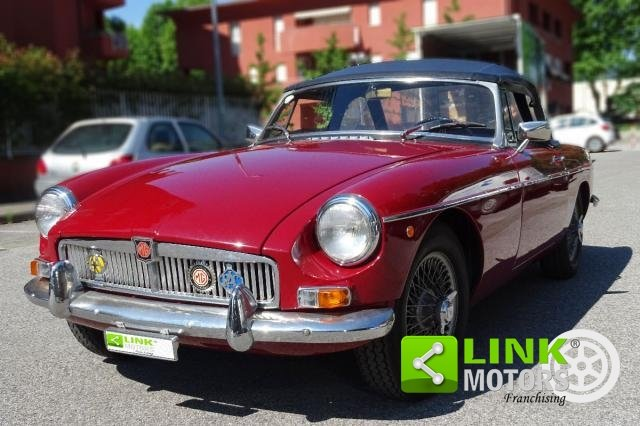 1967 MG - B CABRIOLET  **TARGA ORO ** SOFT E HARD TOP ** For Sale (picture 1 of 6)