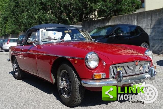 1967 MG - B CABRIOLET  **TARGA ORO ** SOFT E HARD TOP ** For Sale (picture 2 of 6)