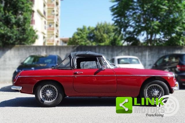 1967 MG - B CABRIOLET  **TARGA ORO ** SOFT E HARD TOP ** For Sale (picture 3 of 6)