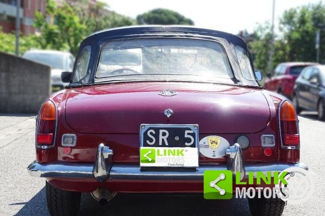 1967 MG - B CABRIOLET  **TARGA ORO ** SOFT E HARD TOP ** For Sale (picture 6 of 6)