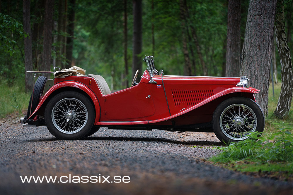 1946 MG TC RHD  For Sale (picture 1 of 6)