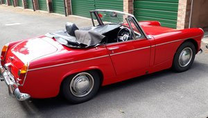 1967 Red MG Midget  For Sale