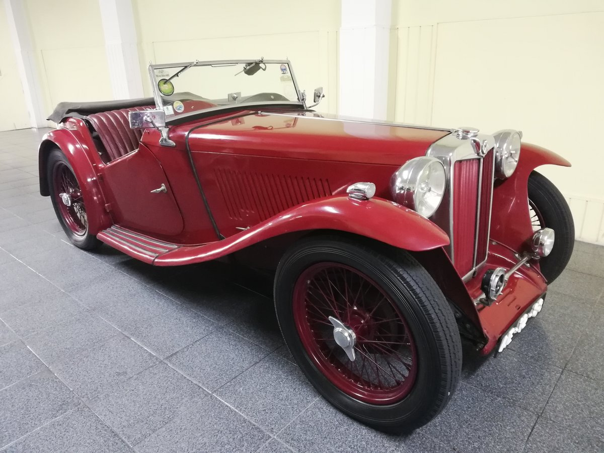 MG TA Roadster 1938 For Sale (picture 1 of 12)