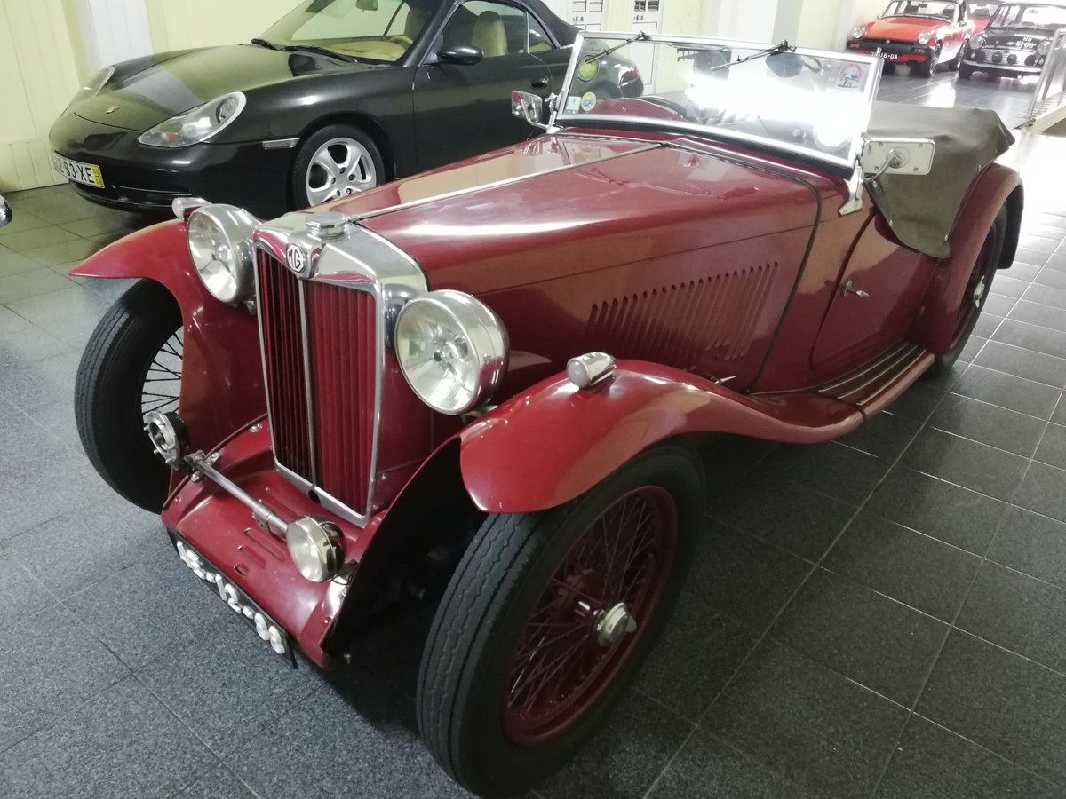 MG TA Roadster 1938 For Sale (picture 6 of 12)