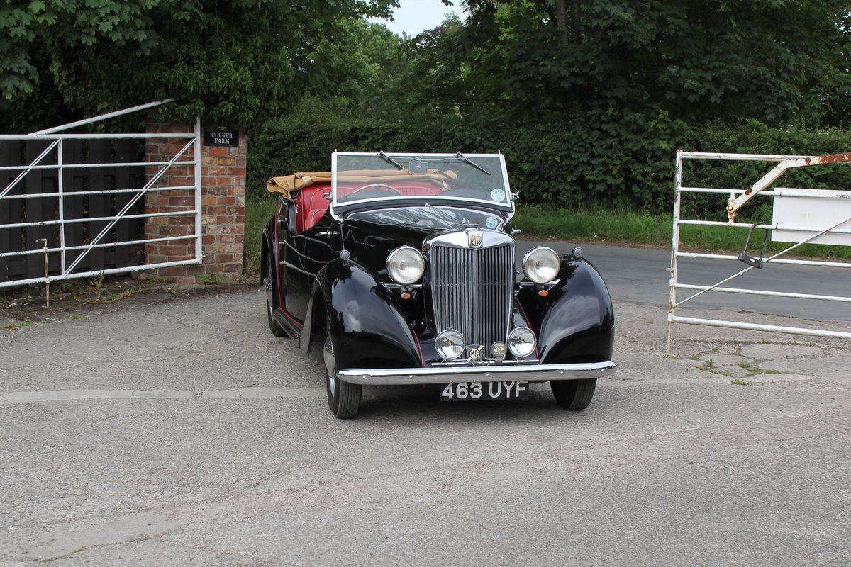 1950 MG YT Tourer - Original RHD, one of 877 ever built SOLD (picture 1 of 20)