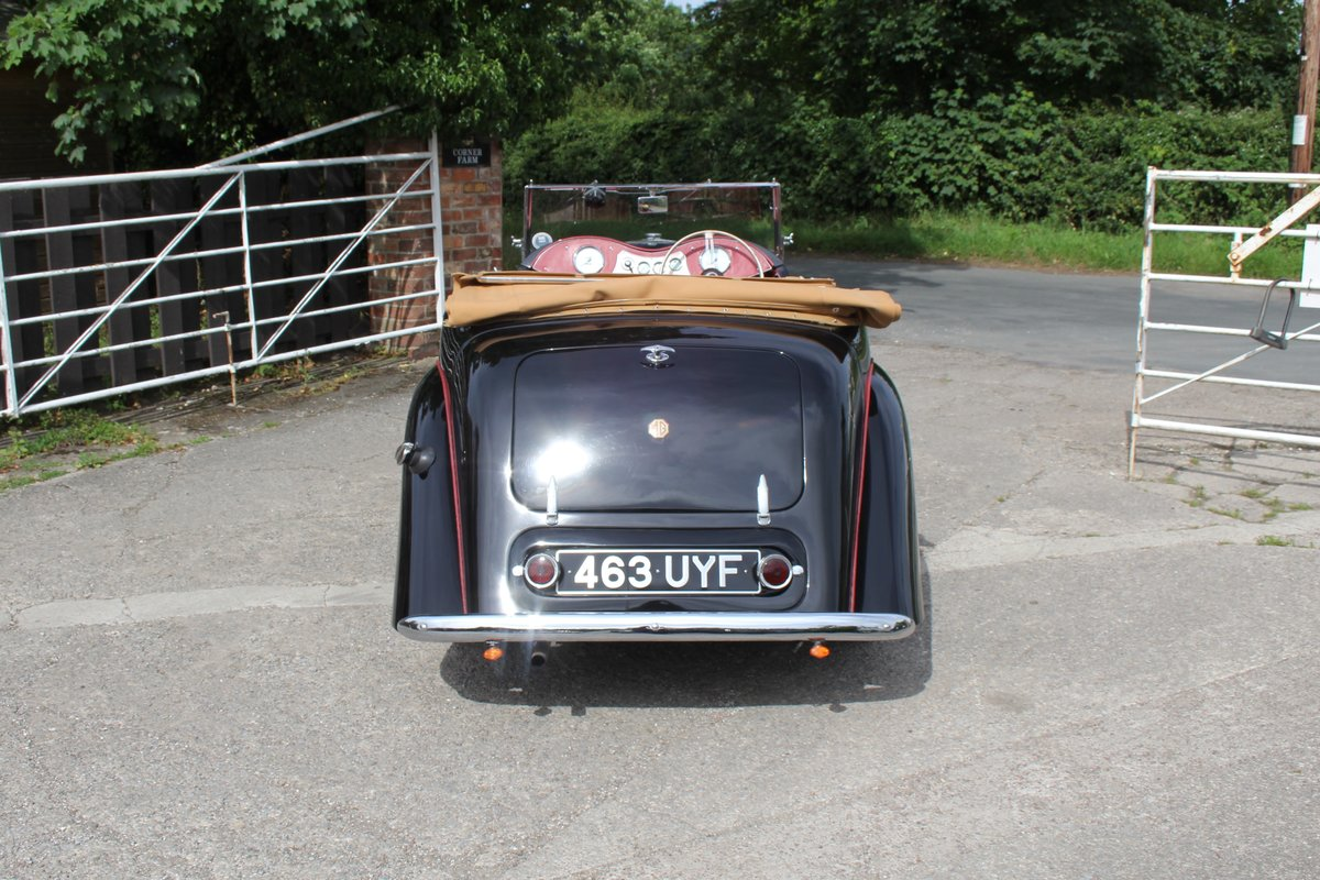 1950 MG YT Tourer - Original RHD, one of 877 ever built SOLD (picture 5 of 20)