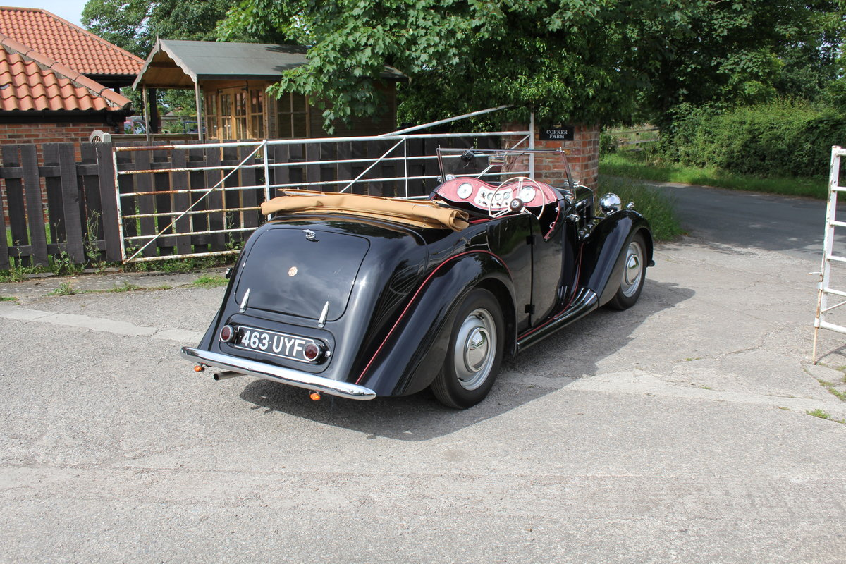 1950 MG YT Tourer - Original RHD, one of 877 ever built SOLD (picture 6 of 20)