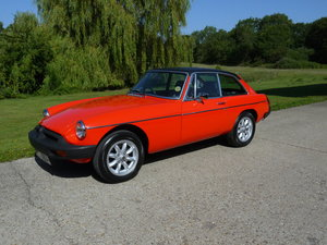 1978 MGB GT 1.8  For Sale