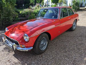 1971 MGB GT 4000 miles since total rebuild. For Sale