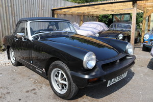 1977 MG Midget 1500 in black For Sale