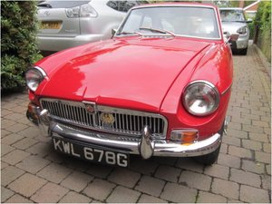 1968 Immaculate mgb gt