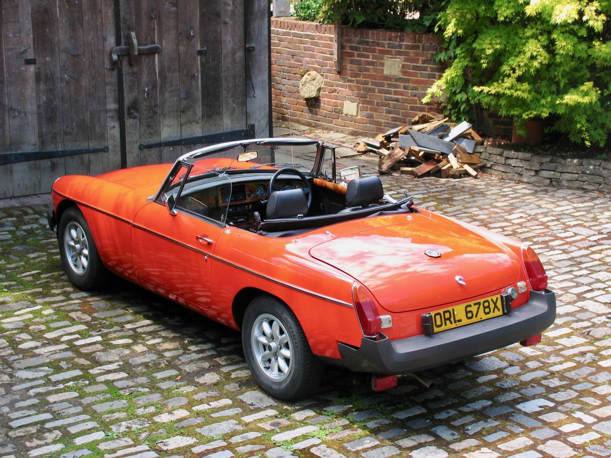 1982 Stunning mgb roadster For Sale (picture 1 of 6)
