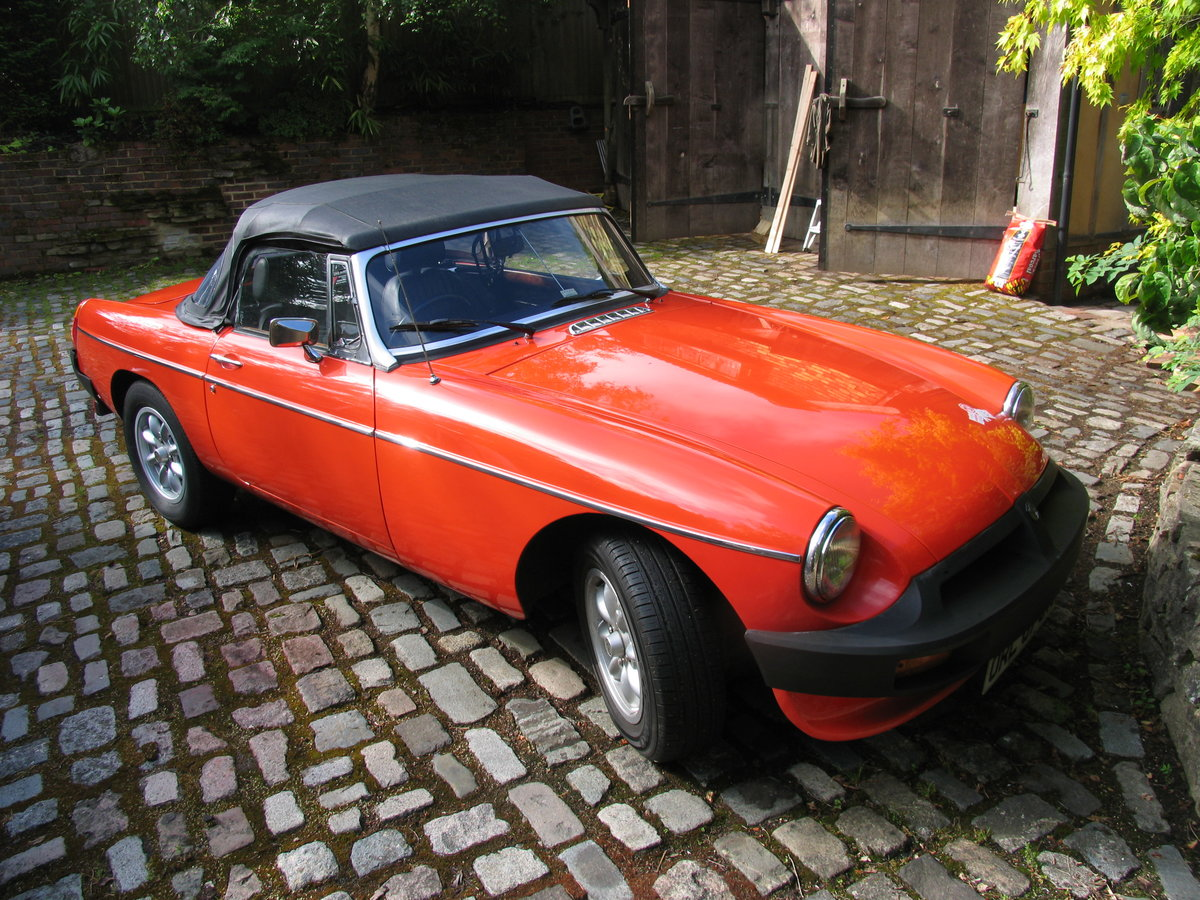 1982 Stunning mgb roadster For Sale (picture 2 of 6)