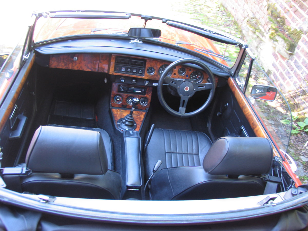 1982 Stunning mgb roadster For Sale (picture 3 of 6)