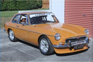 1974 MGB GT  Race & Road original condition