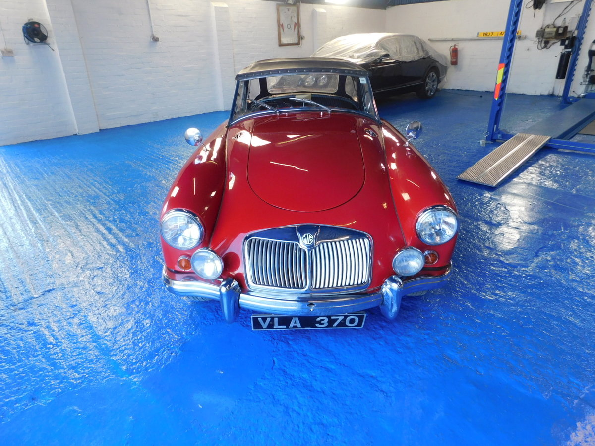 1958 MGA ORIGINAL UK CAR For Sale (picture 1 of 10)