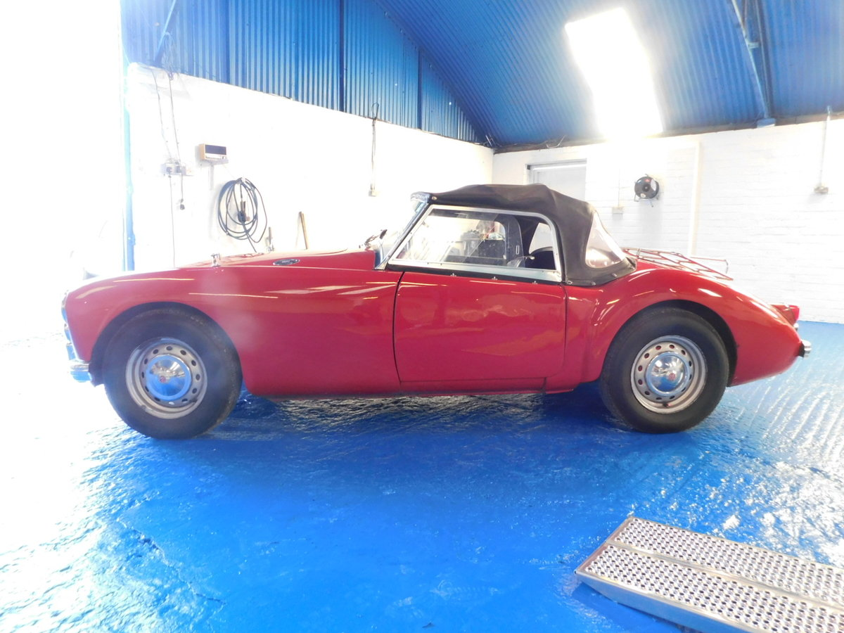 1958 MGA ORIGINAL UK CAR For Sale (picture 2 of 10)